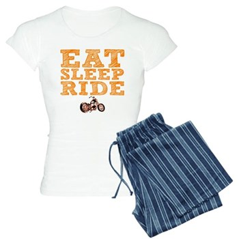 Eat Sleep Ride Women's Light Pajamas