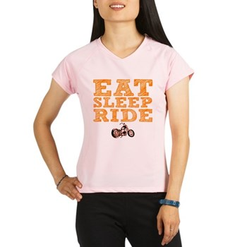 Eat Sleep Ride Women's Performance Dry T-Shirt