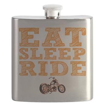 Eat Sleep Ride Flask