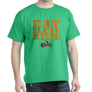 Eat Sleep Ride Dark T-Shirt