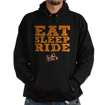 Eat Sleep Ride Dark Hoodie