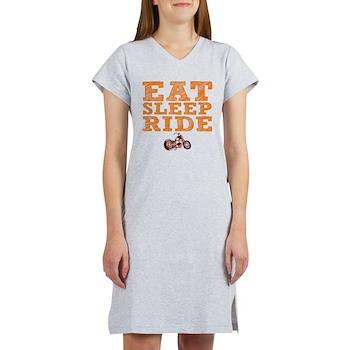 Eat Sleep Ride Women's Nightshirt