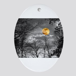 Harvest Moon Ornament (Oval)