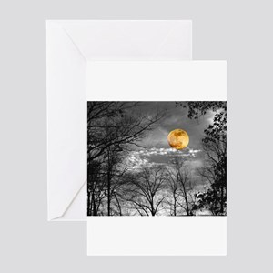 Harvest Moon Greeting Card