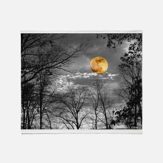 Harvest Moon Throw Blanket
