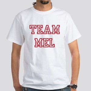 Team MEL White T-Shirt