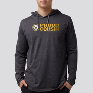U.S. Navy: Proud Cousin Mens Hooded Shirt