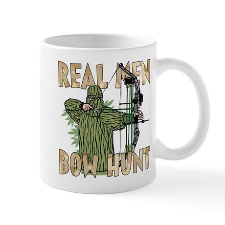 Real Men Bow Hunt Mug