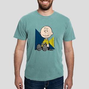 Charlie Brown Sitting Mens Comfort Colors Shirt