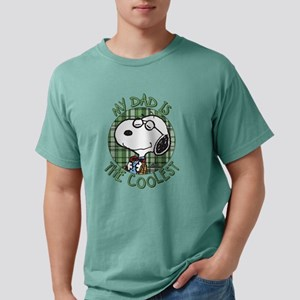 Snoopy - My Dad is the C Mens Comfort Colors Shirt