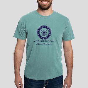 PERSONALIZED US Navy Blu Mens Comfort Colors Shirt
