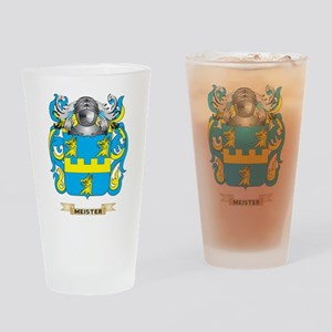 Meister Coat of Arms - Family Crest Drinking Glass