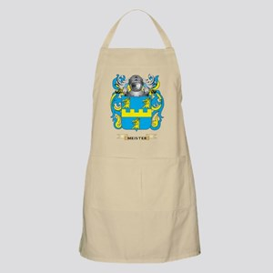 Meister Coat of Arms - Family Crest Apron