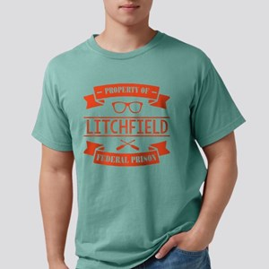 Property of Litchfield F Mens Comfort Colors Shirt
