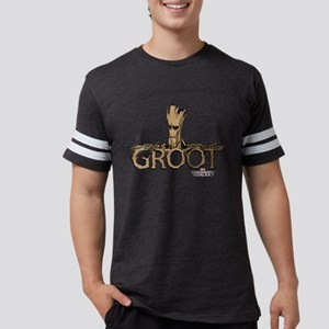 GOTG Comic Groot Mens Football Shirt