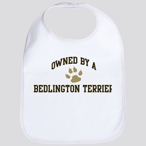 Bedlington Terrier: Owned Bib