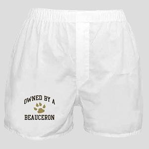 Beauceron: Owned Boxer Shorts