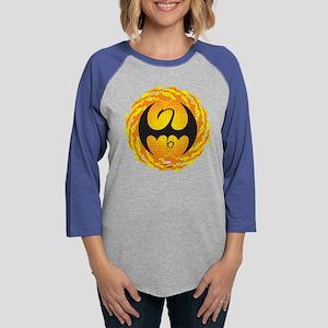 Iron Fist Logo 1 Womens Baseball Tee