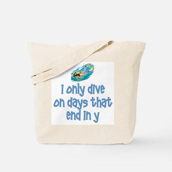 ScubaChick Days Tote Bag