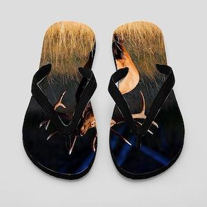 Elk Charging Flip Flops