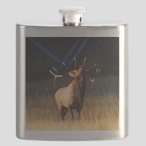 Elk Charging Flask
