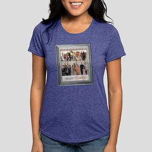 Modern Family Portrait Li Womens Tri-blend T-Shirt