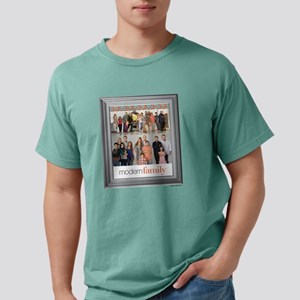 Modern Family Portrait L Mens Comfort Colors Shirt
