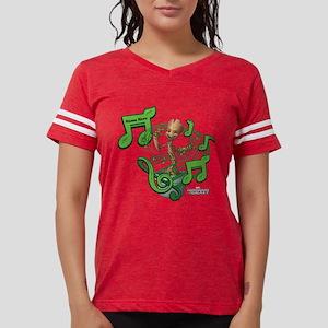 GOTG Personalized Musical Gr Womens Football Shirt