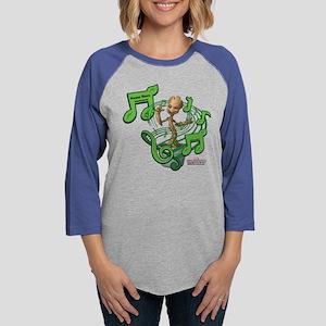 GOTG Personalized Musical Groo Womens Baseball Tee
