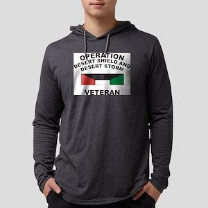 vet-shield Mens Hooded Shirt