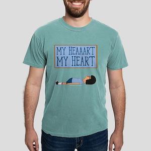 Bob's Burgers Tina Heart Mens Comfort Colors Shirt