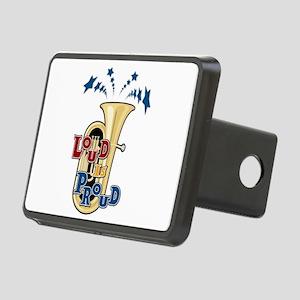 Loud Tuba Rectangular Hitch Cover