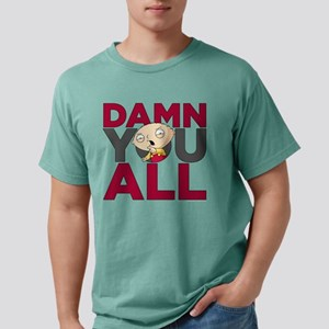 Family Guy Damn You All  Mens Comfort Colors Shirt