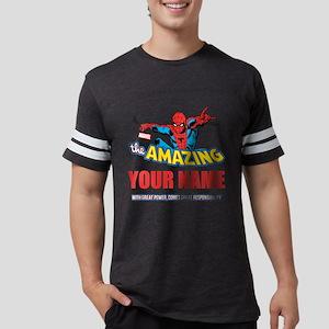 Personalized Amazing Spiderman Mens Football Shirt