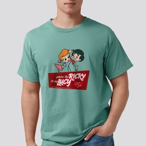 I Love Lucy Valentine&#3 Mens Comfort Colors Shirt