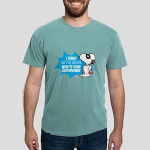 Snoopy - Teacher Mens Comfort Colors Shirt