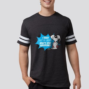 Snoopy - Teacher Mens Football Shirt