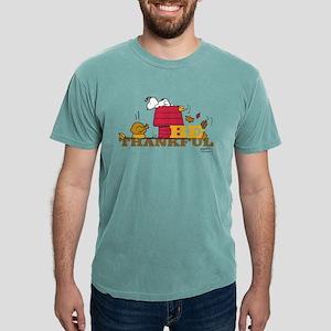 Peanuts - Be Thankful Mens Comfort Colors Shirt