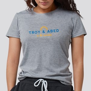 Troy & Abed in the Mornin Womens Tri-blend T-Shirt