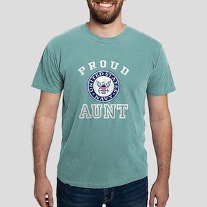 Proud US Navy Aunt Mens Comfort Colors Shirt