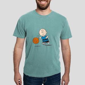 Basketballer Brown Mens Comfort Colors Shirt
