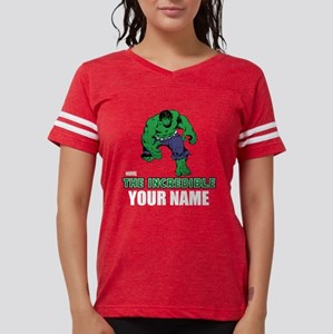 Personalized Incredible Hulk Womens Football Shirt