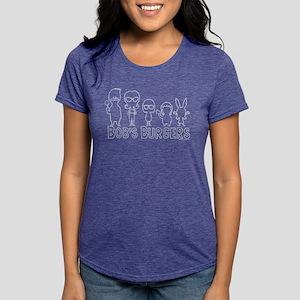 Bob's Burgers Family Outl Womens Tri-blend T-Shirt