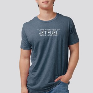 jetfuel_bk Mens Tri-blend T-Shirt