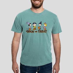 Peanuts - Trick or Treat Mens Comfort Colors Shirt