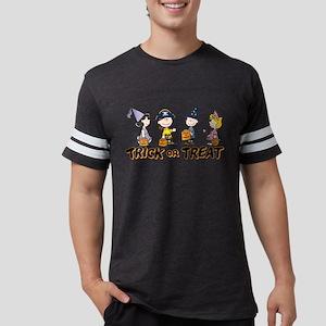Peanuts - Trick or Treat Mens Football Shirt