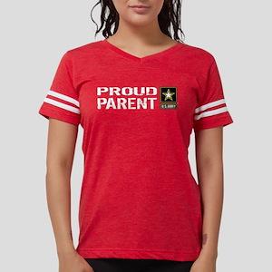U.S. Army: Proud Parent (Bla Womens Football Shirt