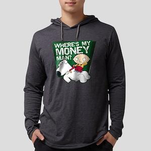 Family Guy My Money Dark Mens Hooded Shirt