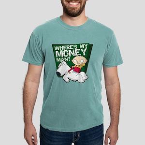 Family Guy My Money Dark Mens Comfort Colors Shirt