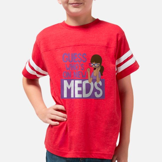 Bob's Burgers Gayle Light Youth Football Shirt